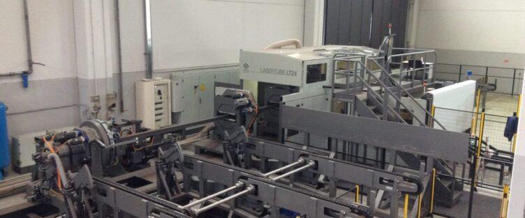 Nuovo Impianto Taglio Laser Tube LT24
